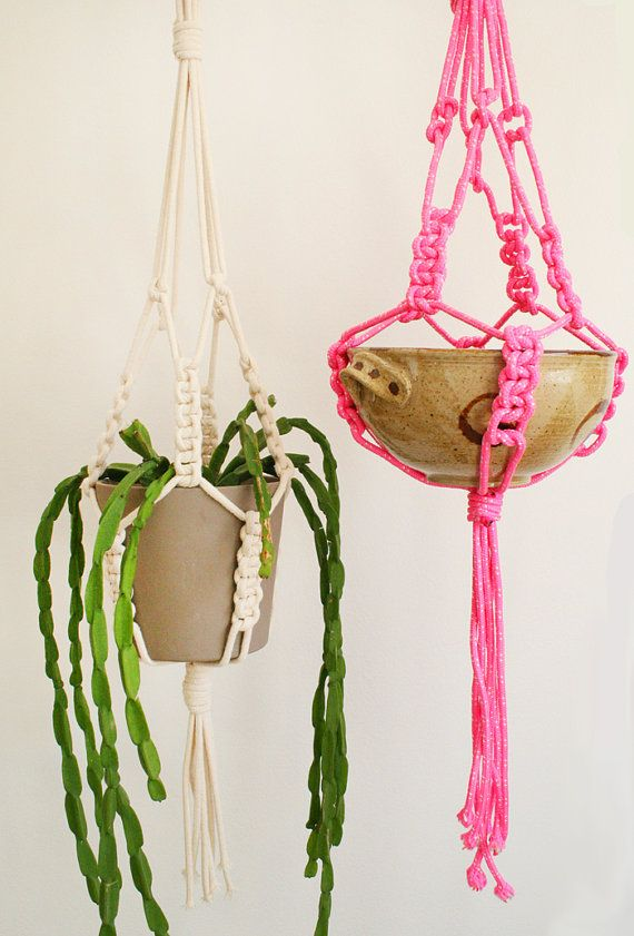 30 Lovely Macrame Diy Crafts