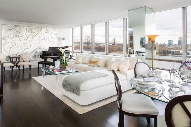 Glamourous Art Deco Apartment In Manhattan New York