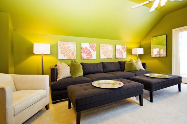 21 Vibrant Colored Sofa Design Ideas to Break the Monotony in the Living Room