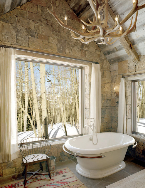21 Inspirational Ideas How to Add a Rustic Touch in Your Home with Antler Chandelier