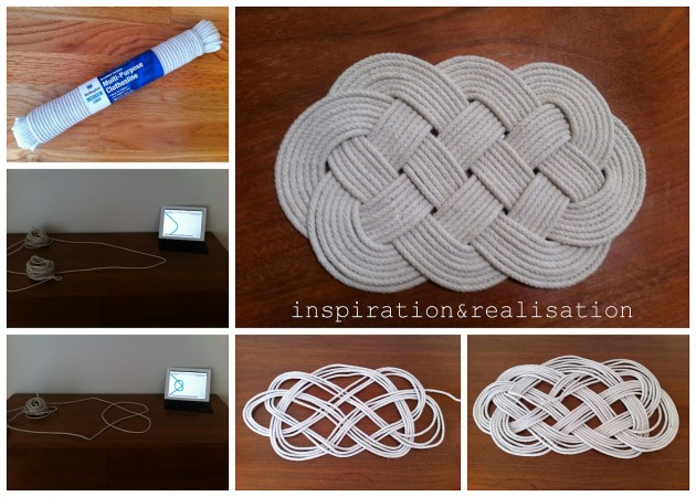 Macrame Door Mat Pattern Items Similar To Tan Khaki Brown