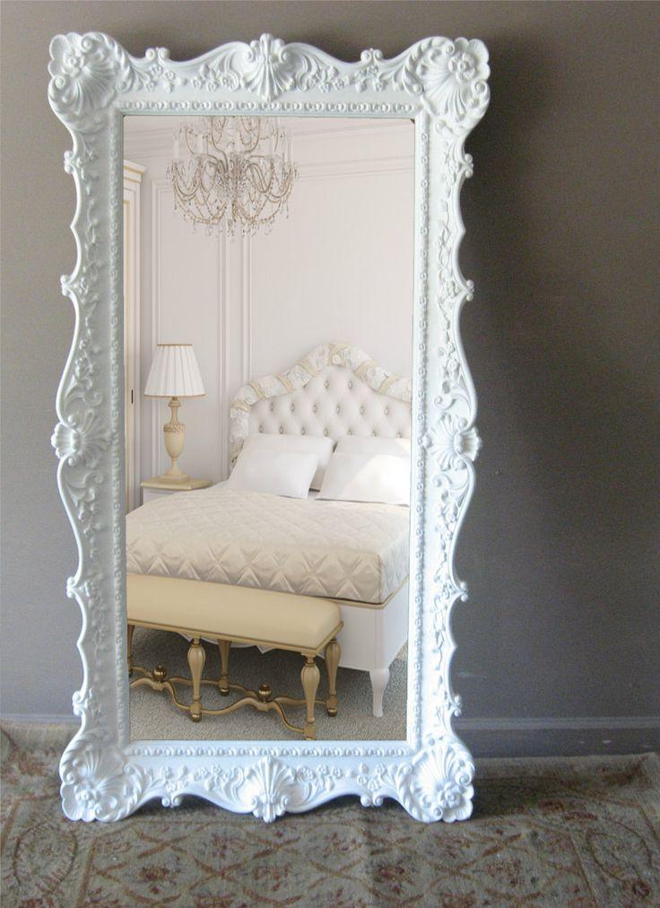 Romantic Room Designs: 28 Elegant Floor Mirror Designs