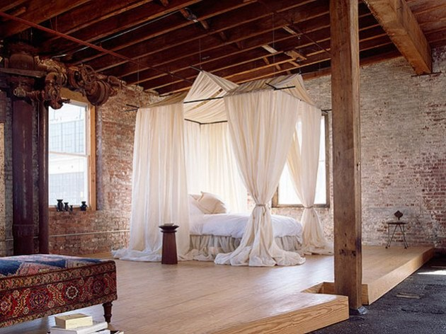ideas for rustic bedroom chic
