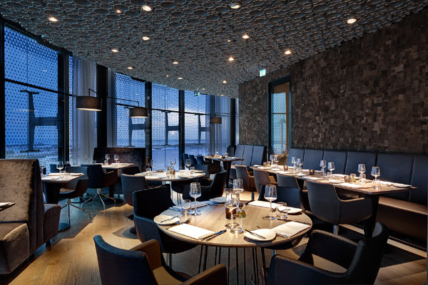 Awesome Futuristic Interior Design in Circular Hotel- Fletcher Hotel in Amsterdam