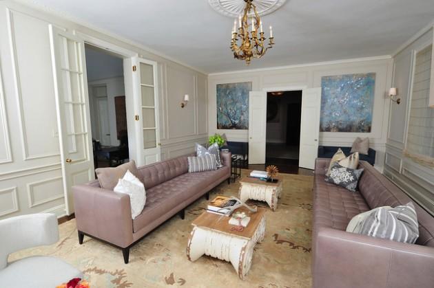 21 Vibrant Colored Sofa Design Ideas to Break the Monotony in the Living Room