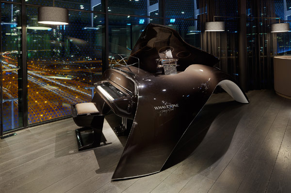 Awesome Futuristic Interior Design in Circular Hotel  Fletcher Hotel in Amsterdam