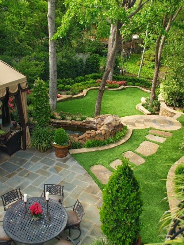 25 Inspirational Backyard Landscaping Ideas