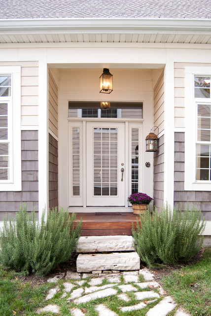 Creative Ideas Of Traditional Outdoor Front Entry Steps