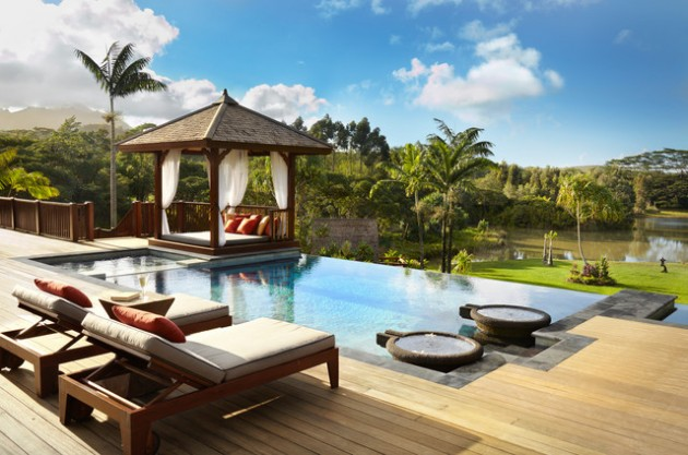 16 Charming Ideas How To Make Wonderful Relaxing Place Near Your Pool