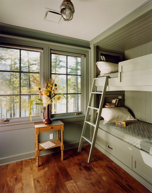 27 Fantastic Built In Bunk Bed Ideas for Kids Room from a Fairy Tales