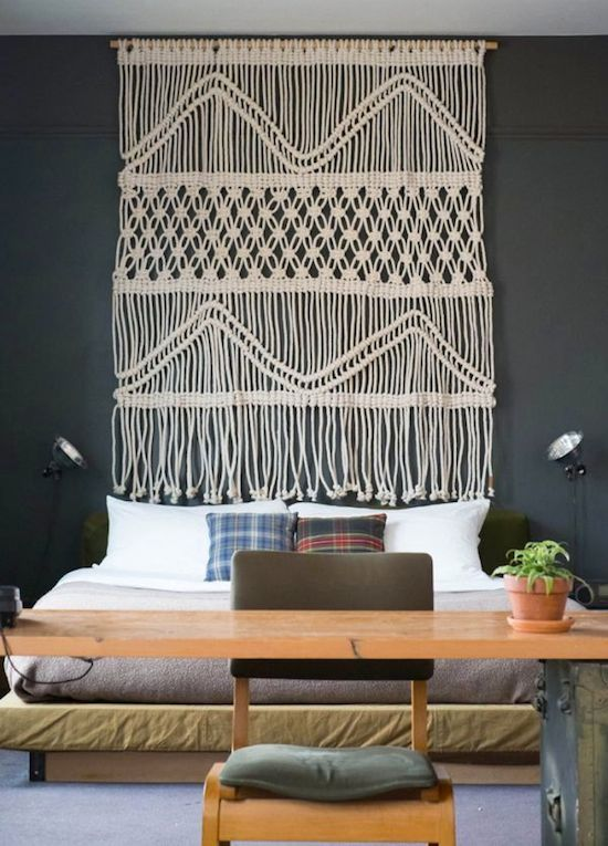 30 lovely macrame diy crafts. Black Bedroom Furniture Sets. Home Design Ideas