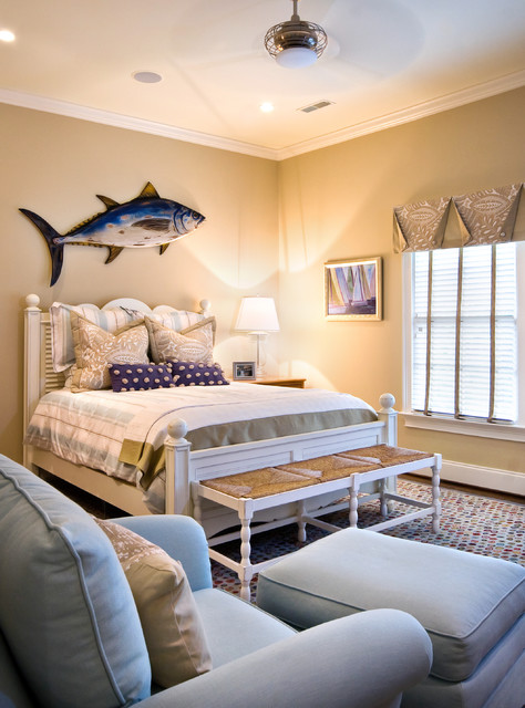 Coastal Bedroom: 20 Timeless Ideas How To Decorate Beach Style Bedroom