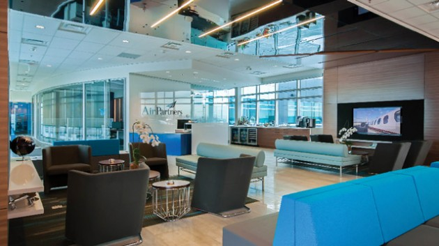 Air Partners Office Design by JWA Design