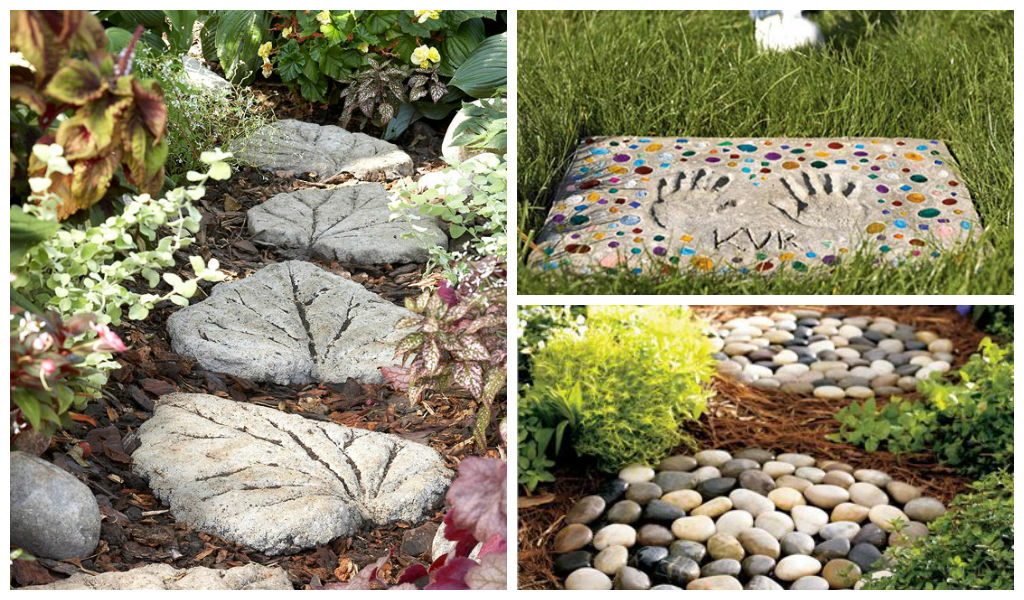 25 amazing diy stepping stone ideas for your garden for Garden stepping stone ideas
