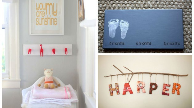 30 Amazing DIY Nursery Ideas