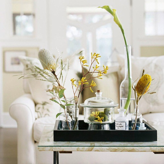 to Style Your Coffee Table for Spring