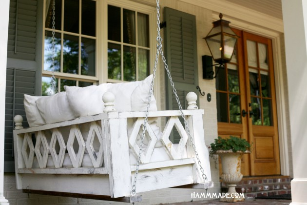 Crib Sized Swing Bed Porch Swing