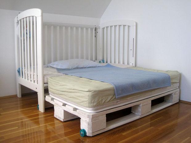 Boho Nursery Crib