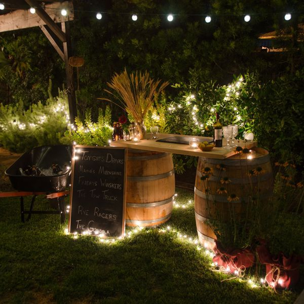 23 Incredible DIY Outside Bar Ideas