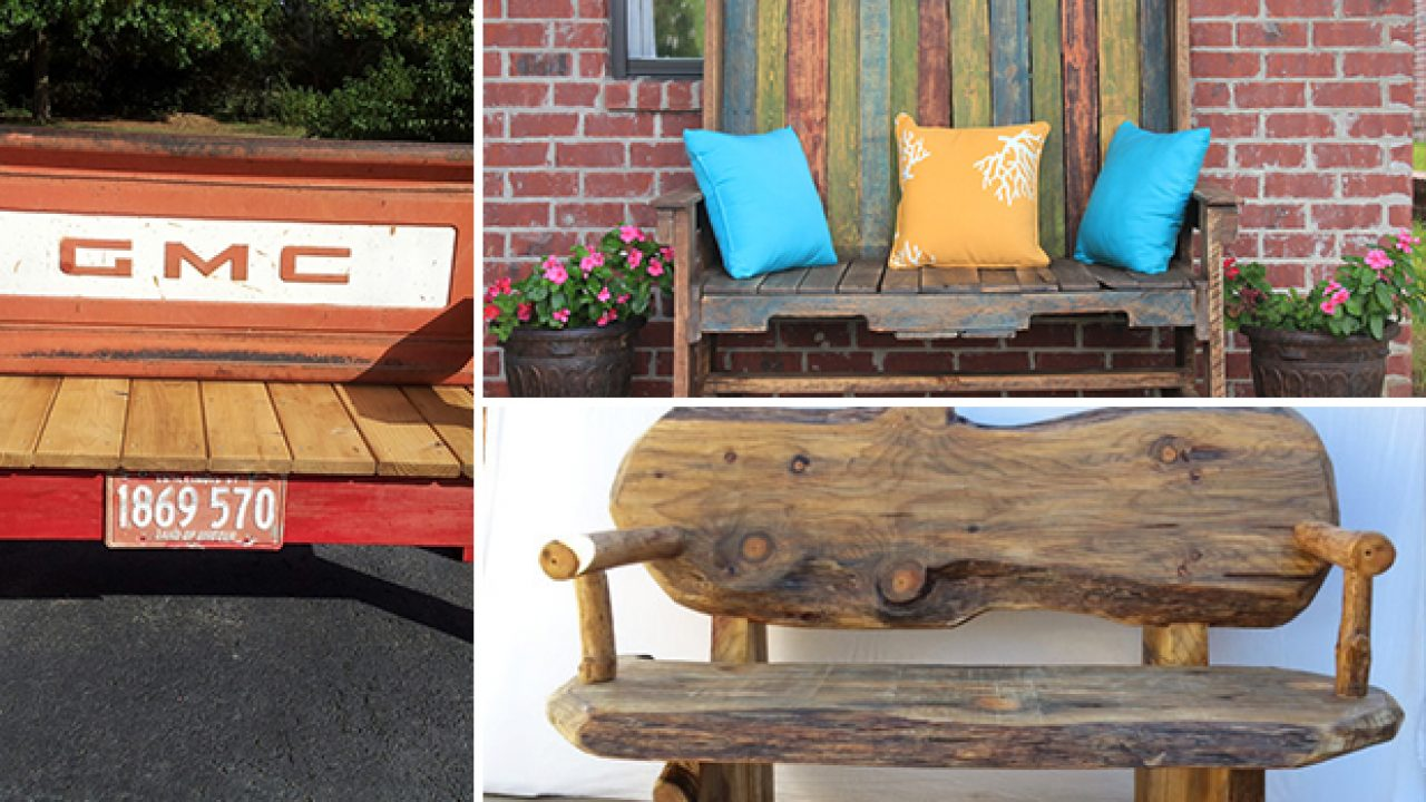 Picture of: 18 Beautiful Handcrafted Outdoor Bench Designs