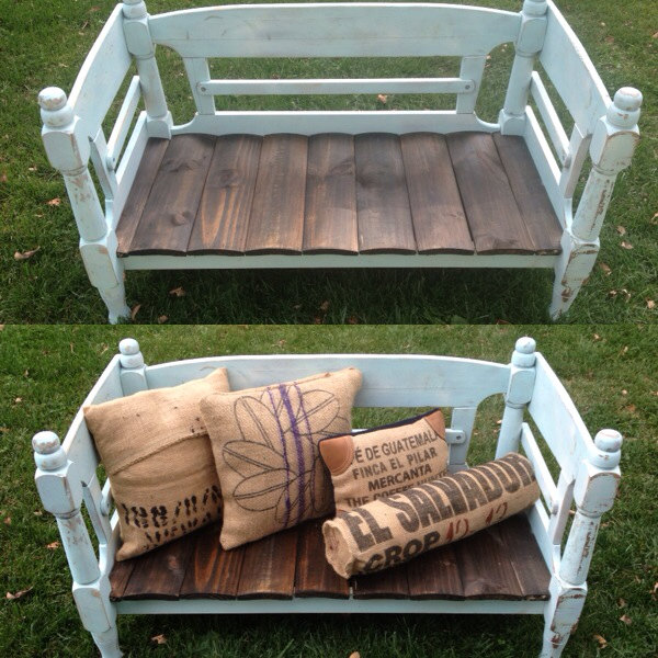 18 Beautiful Handcrafted Outdoor Bench Designs