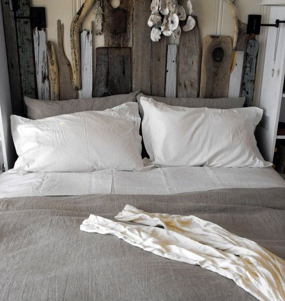 27 incredible diy wooden headboard ideas - How to make a bed headboard ...