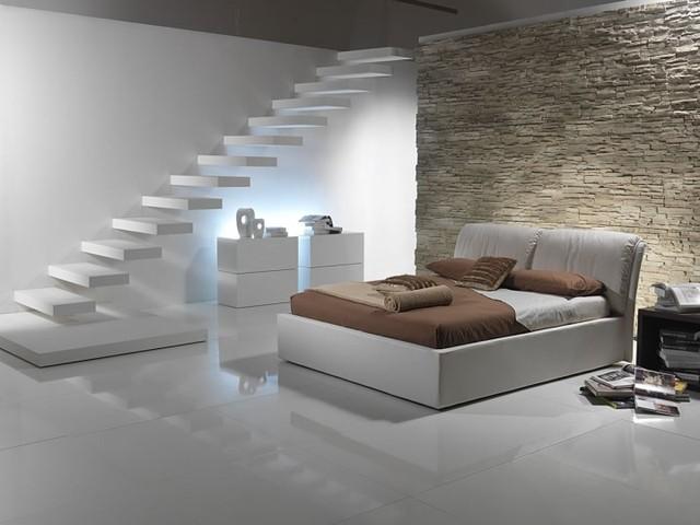 19 elegant stone wall bedroom design ideas for Rock bedroom designs
