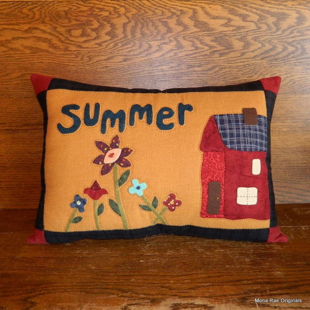 20 Refreshing Decorative Summer Pillow Ideas