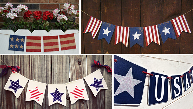 21 Outstanding Handmade Patriotic Banners