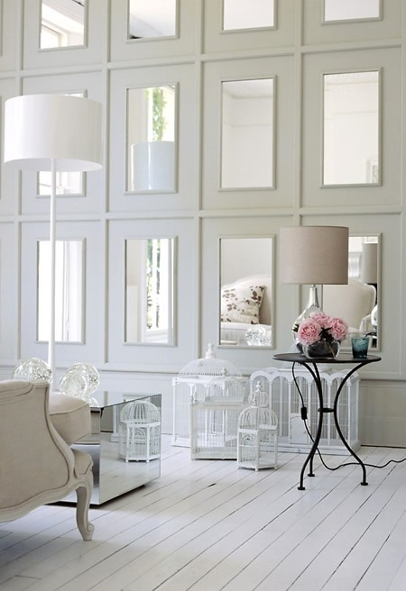 25 Fabulous Mirror Wall Ideas