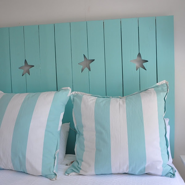 27 Incredible DIY Wooden Headboard Ideas