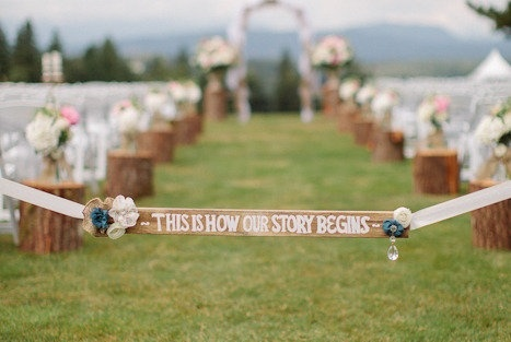 Superb DIY Ideas for Your Outdoor Wedding