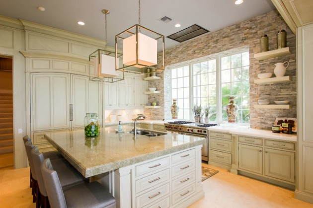 19 Sleek Big Open Kitchen Design Ideas For Everyone Who Love Cooking