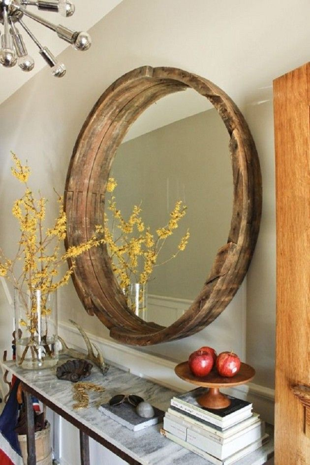 17 Very Cool Handmade Mirror Design Ideas