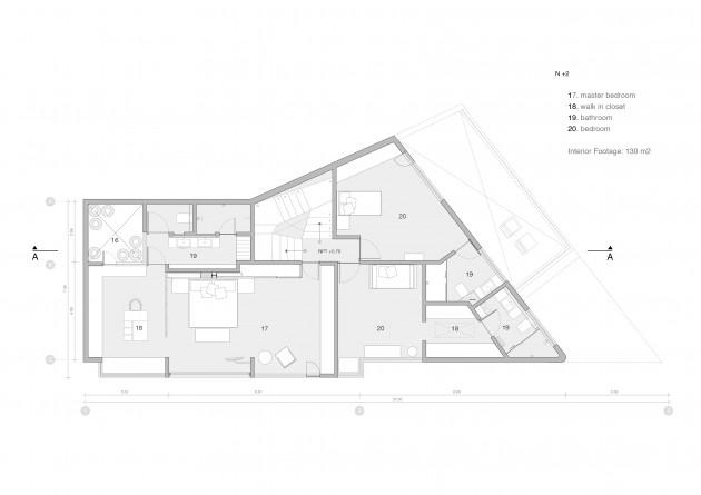 Spectacular VIRREYES II-RESIDENCE by Paola Calzada Arquitectos