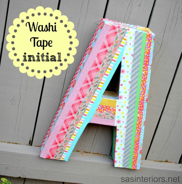 The Best 31 Ways How To Use Washi Tape in Your Home Decor