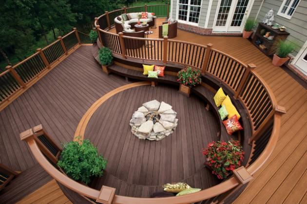 24 Amazingly Elegant Wooden Deck Designs