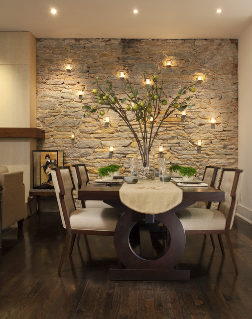14 welcoming contemporary dining room designs for Design my dining room