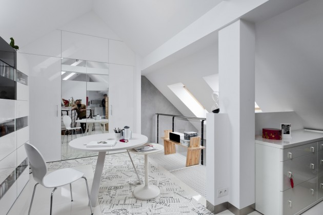 CONDO / \ ATTIC SPACE in Poznan by KASIA ORWAT Home Design