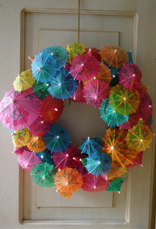 Beautify Your Front Door: 20 Lovely Handmade Summer Wreath Ideas