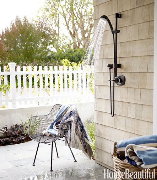 21 Divine Dreamy Outdoor Shower Designs to Spice Up Your Backyard