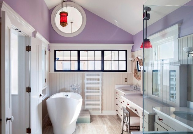 17 Of The Most Awesome Eclectic Bathroom Designs