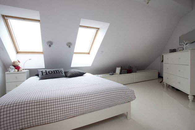 CONDO / \ ATTIC SPACE in Poznan by KASIA ORWAT Home Design