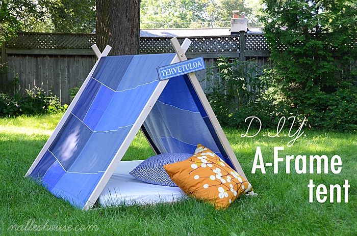 & 19 Unique Handmade Play Tents For Kids