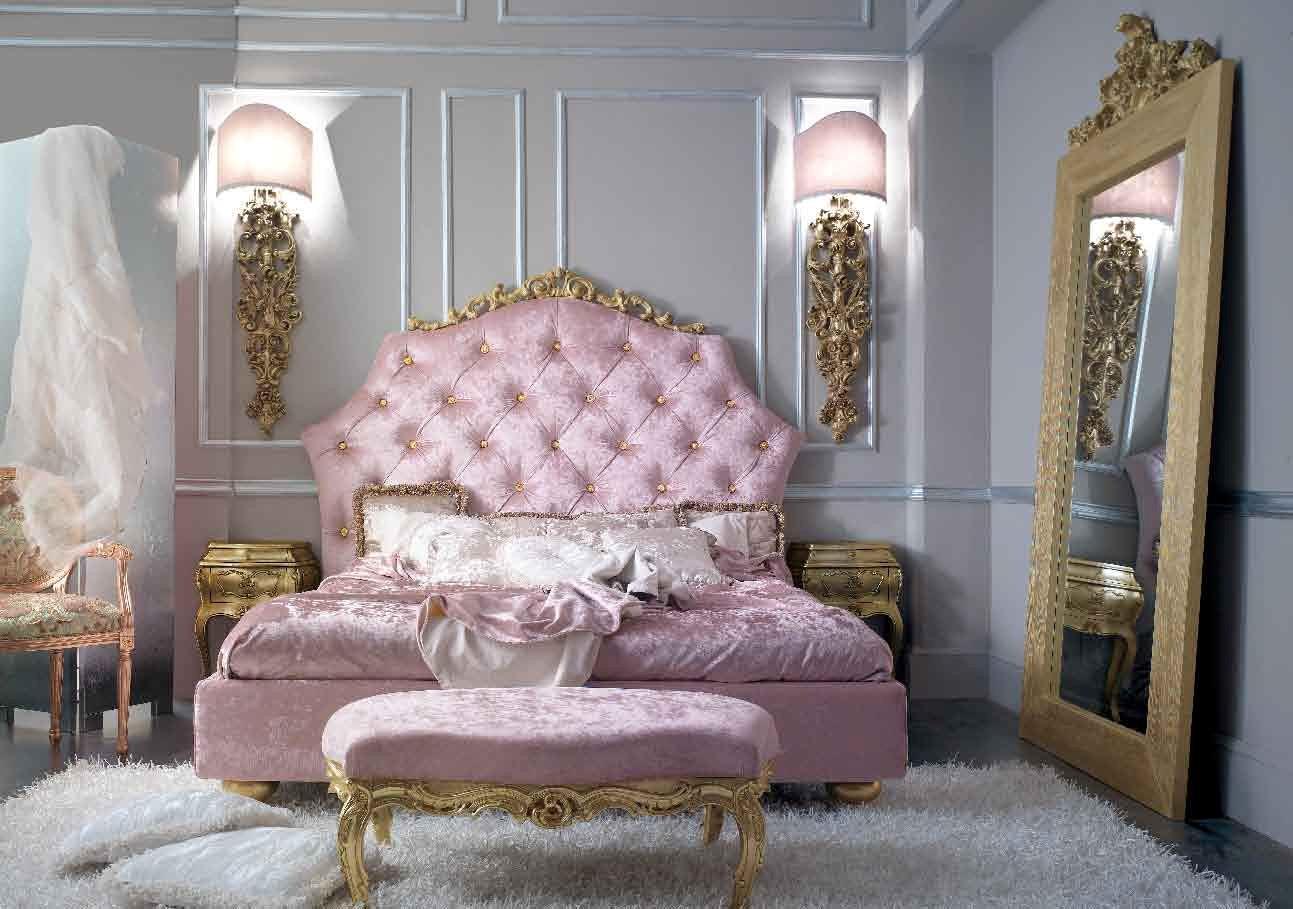 10 Glamorous Baroque Dream Bedroom Design Ideas