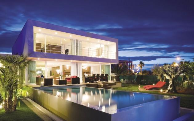 Dünyanın En Nefes Kesen Lüks Villa Tasarım Fikirleri