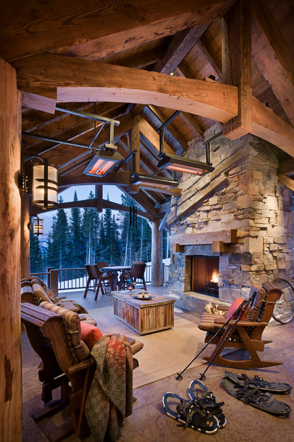 12 Warm and Cozy Rustic Outdoor Ideas