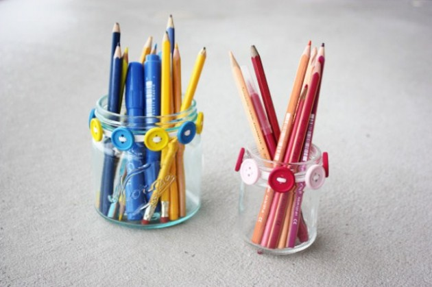 16 Chic & Unique Handmade Pencil Holders