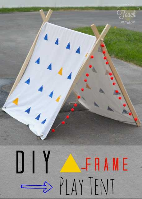 19 Unique Handmade Play Tents For Kids