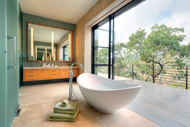 The coolest 14 open bathroom designs you must see for See bathroom designs